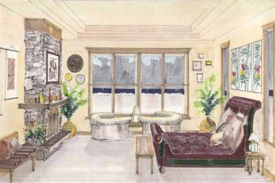 This image shows a living area.