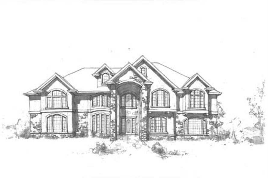 Luxury home plans home design nielsen for Luxury farmhouse plans