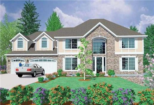 Main image for house plan # 16727