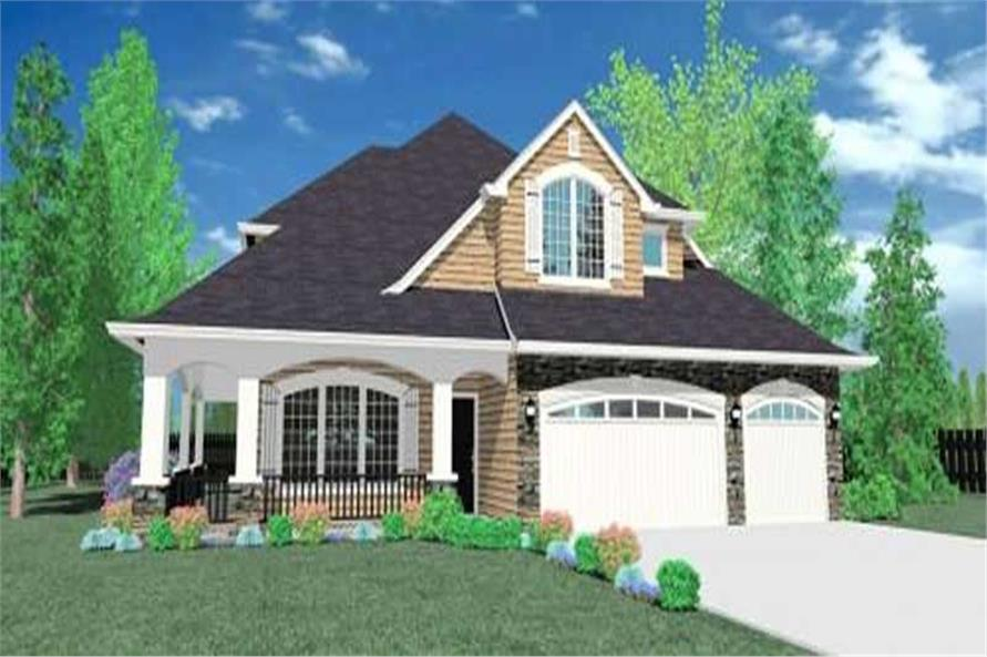 4-Bedroom, 3308 Sq Ft Country Home Plan - 149-1039 - Main Exterior