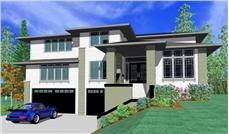Main image for house plan # 16699