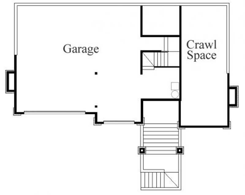 This image shows the garage area.