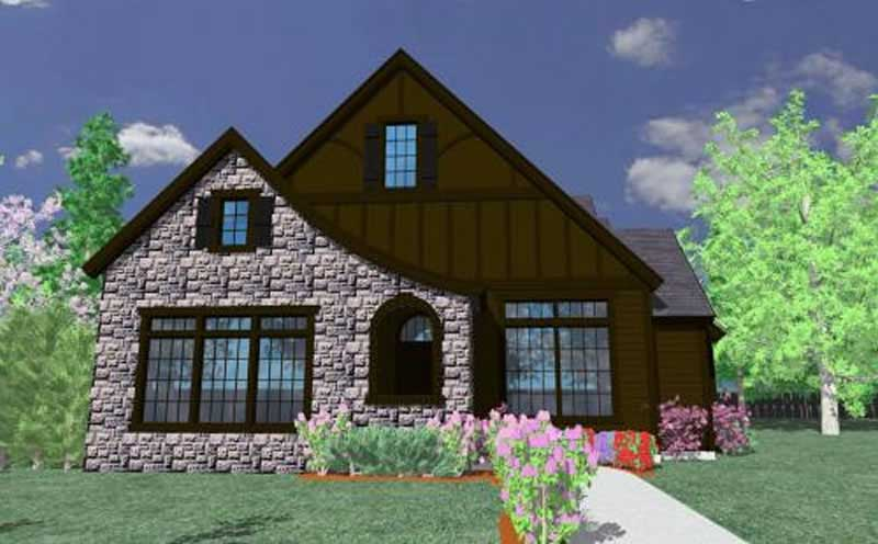 French Country European Tudor House Plans Home Design
