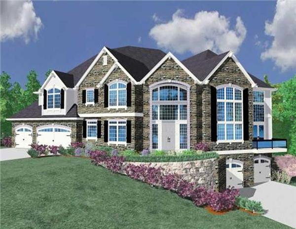 Main image for house plan # 16739