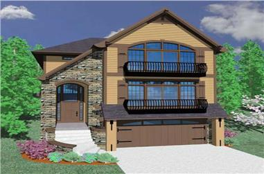 Main image for house plan # 16691