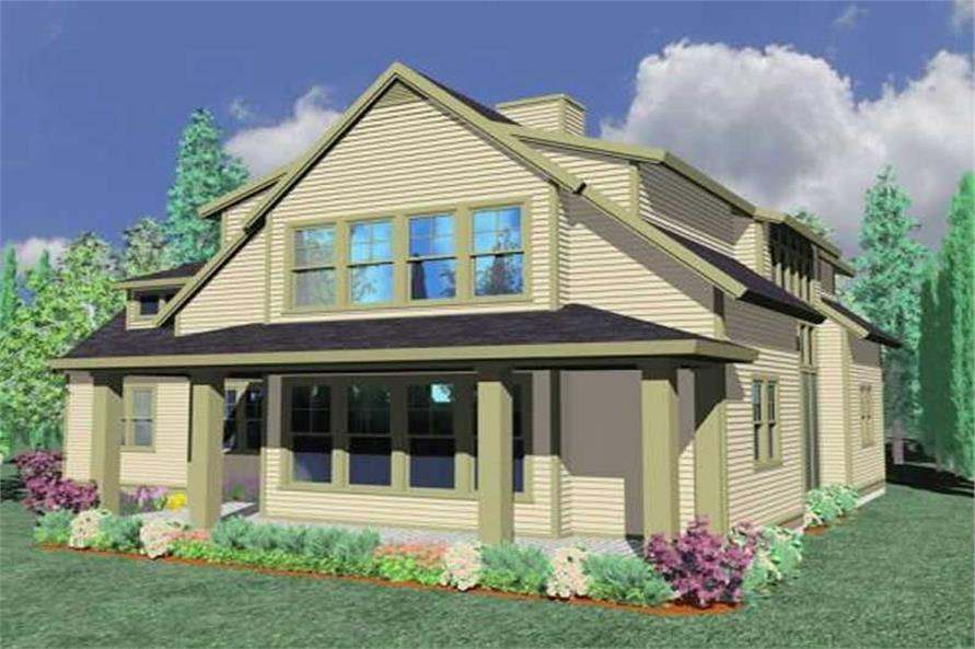 Main image for house plan # 16667