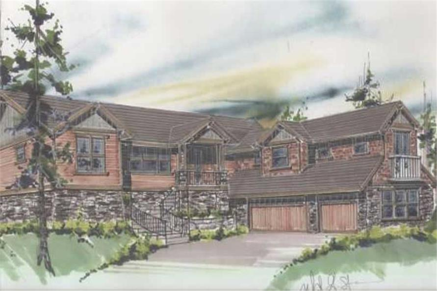 4-Bedroom, 2841 Sq Ft Ranch House Plan - 149-1062 - Front Exterior