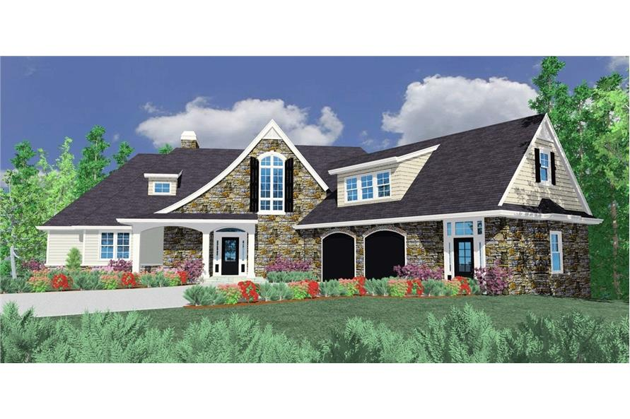 Main image for house plan # 16714
