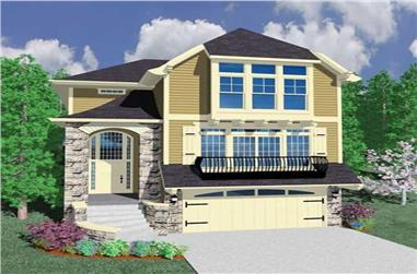 4-Bedroom, 3028 Sq Ft Ranch House Plan - 149-1068 - Front Exterior