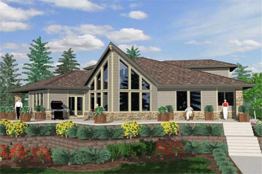 Main image for house plan # 16706