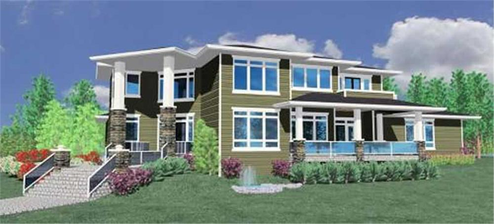 Main image for house plan # 16735