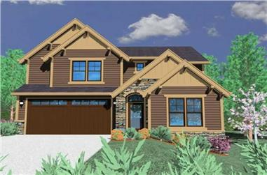 Main image for house plan # 16683