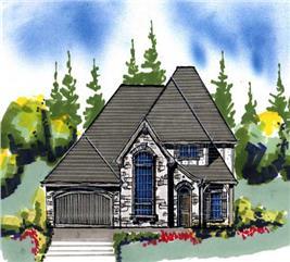 House Plan #149-1088