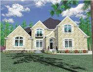 Main image for house plan # 16734