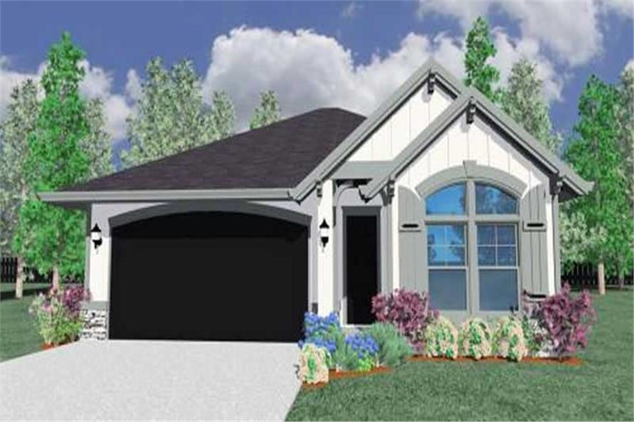Main image for house plan # 16641