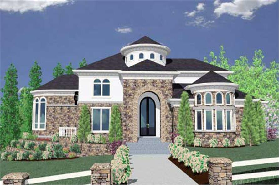 Luxury House Plans Home Design M 6166