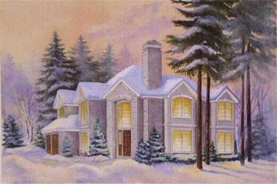 Main image for house plan # 16688