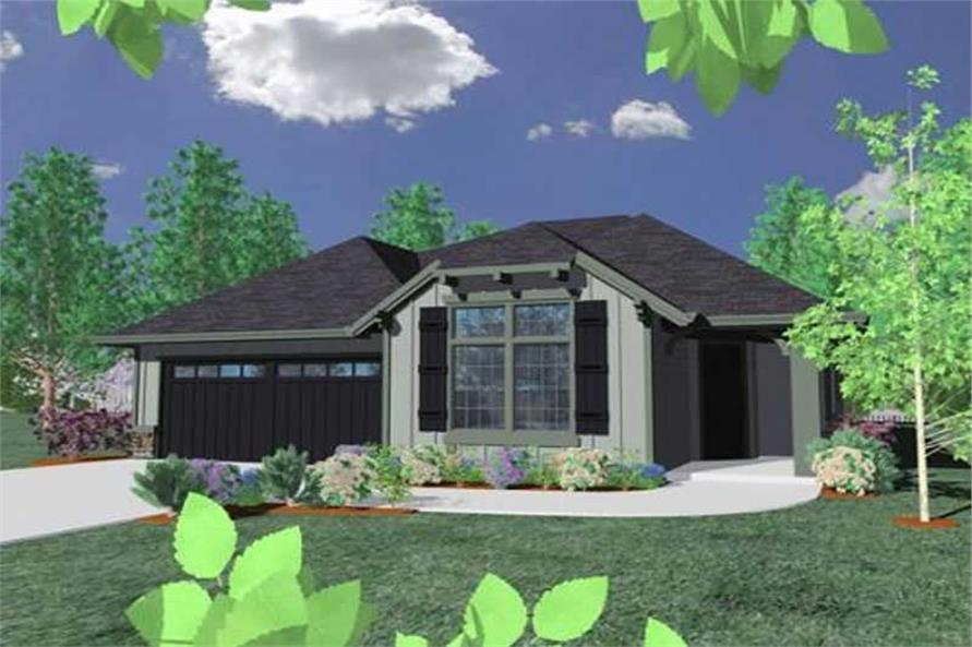 4-Bedroom, 1898 Sq Ft Country Home Plan - 149-1114 - Main Exterior