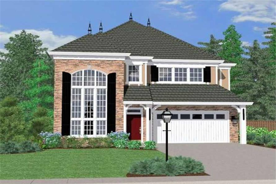 Main image for house plan # 16672