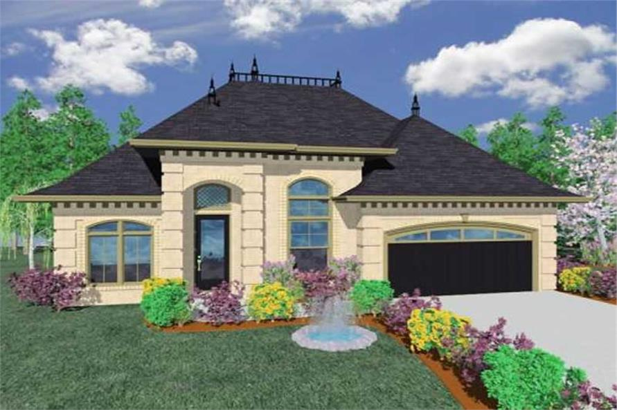 2-Bedroom, 1899 Sq Ft Country Home Plan - 149-1126 - Main Exterior