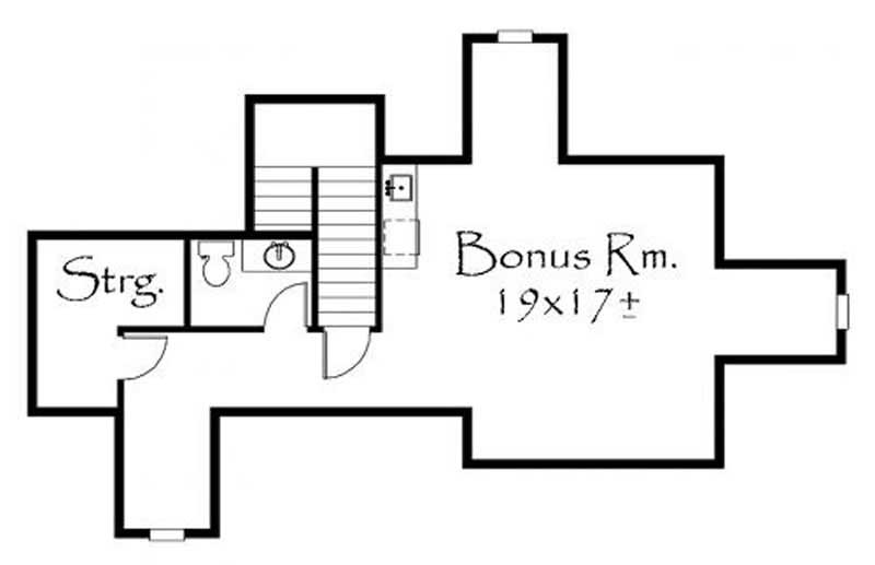 This image shows the bonus room.