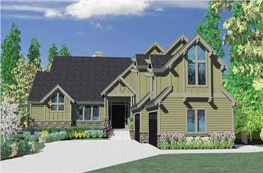 5-Bedroom, 4673 Sq Ft Craftsman Home Plan - 149-1131 - Main Exterior