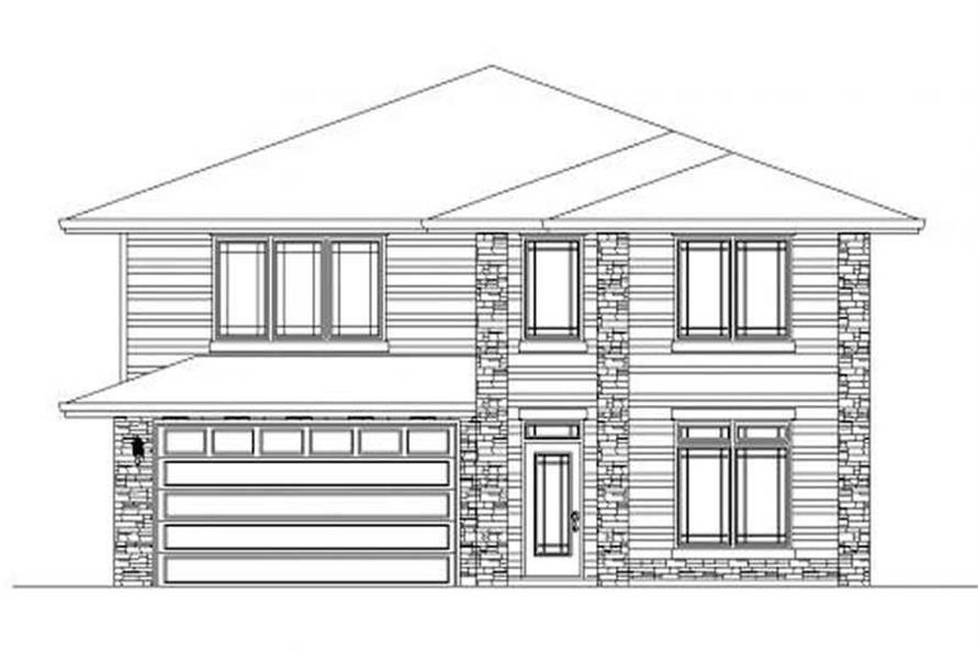 Main image for house plan # 16745