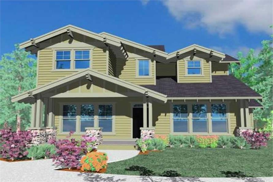 3-Bedroom, 2478 Sq Ft Ranch Home Plan - 149-1139 - Main Exterior