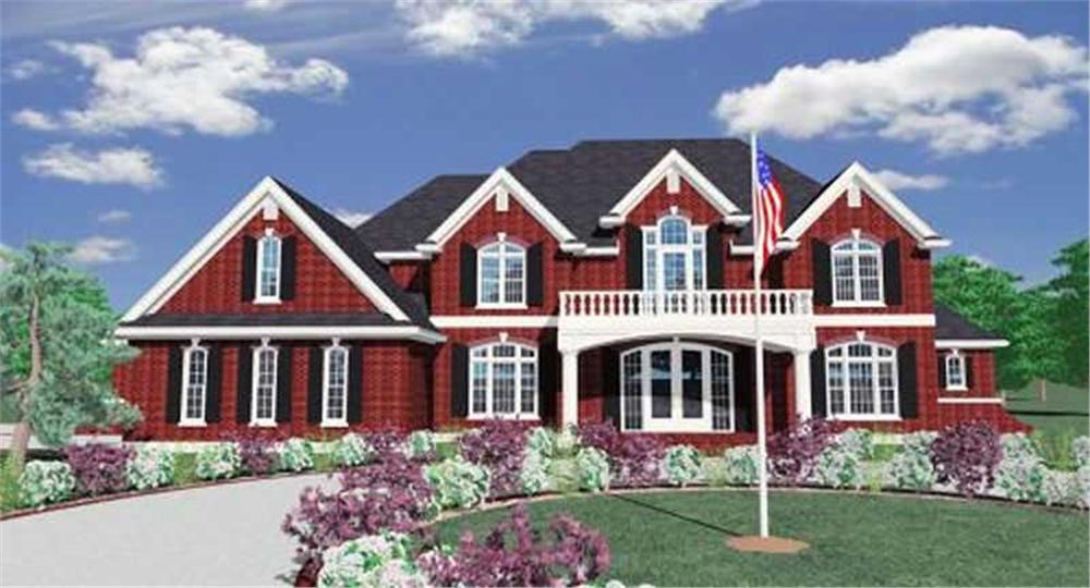Main image for luxury house plans # 16740
