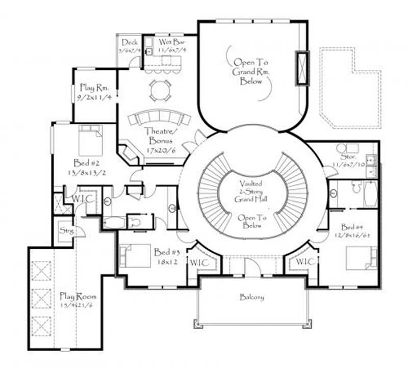This image shows the theater/bonus room.