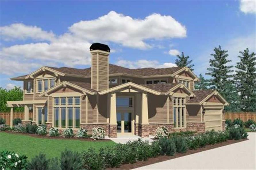 Main image for house plan # 16684