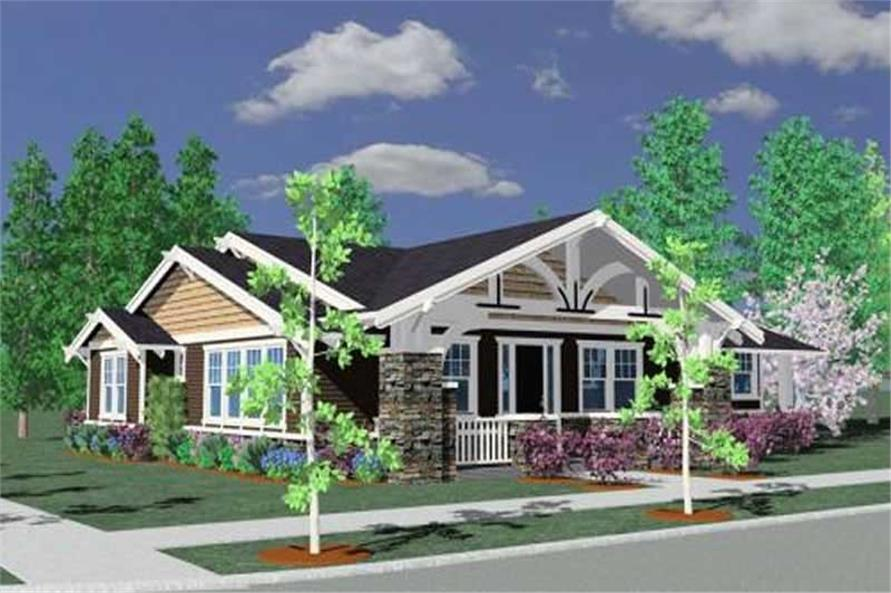 Main image for house plan # 16645