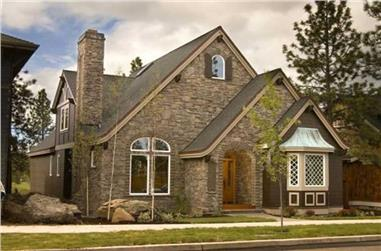 4-Bedroom, 2532 Sq Ft Country Home Plan - 149-1158 - Main Exterior