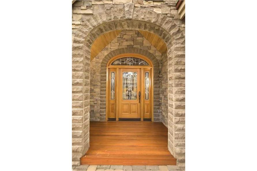 This image shows the entry to this beautiful home.