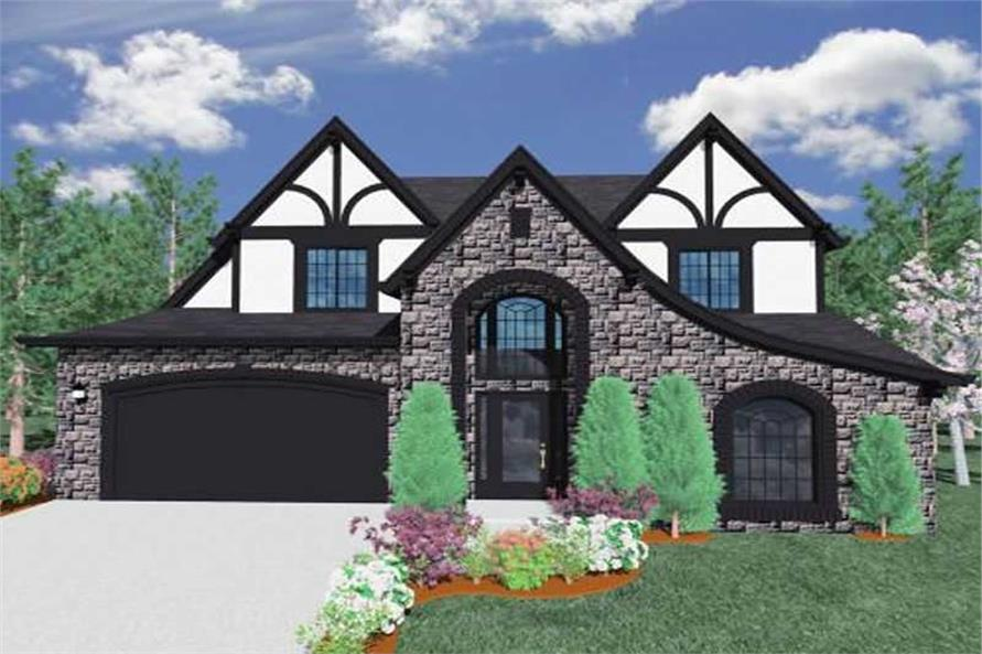 3-Bedroom, 2387 Sq Ft Country Home Plan - 149-1160 - Main Exterior
