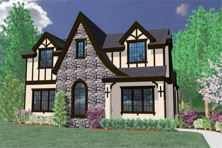 3-Bedroom, 2260 Sq Ft Country Home Plan - 149-1162 - Main Exterior