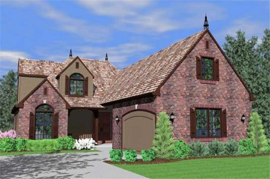 3-Bedroom, 2157 Sq Ft Country Home Plan - 149-1166 - Main Exterior