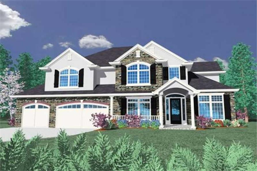 Main image for house plan # 16728