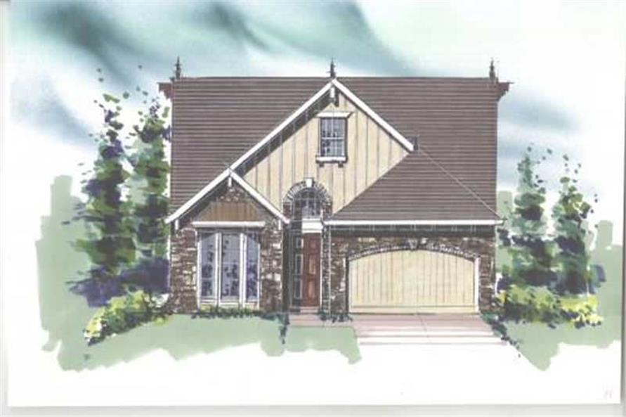 Main image for house plan # 16651