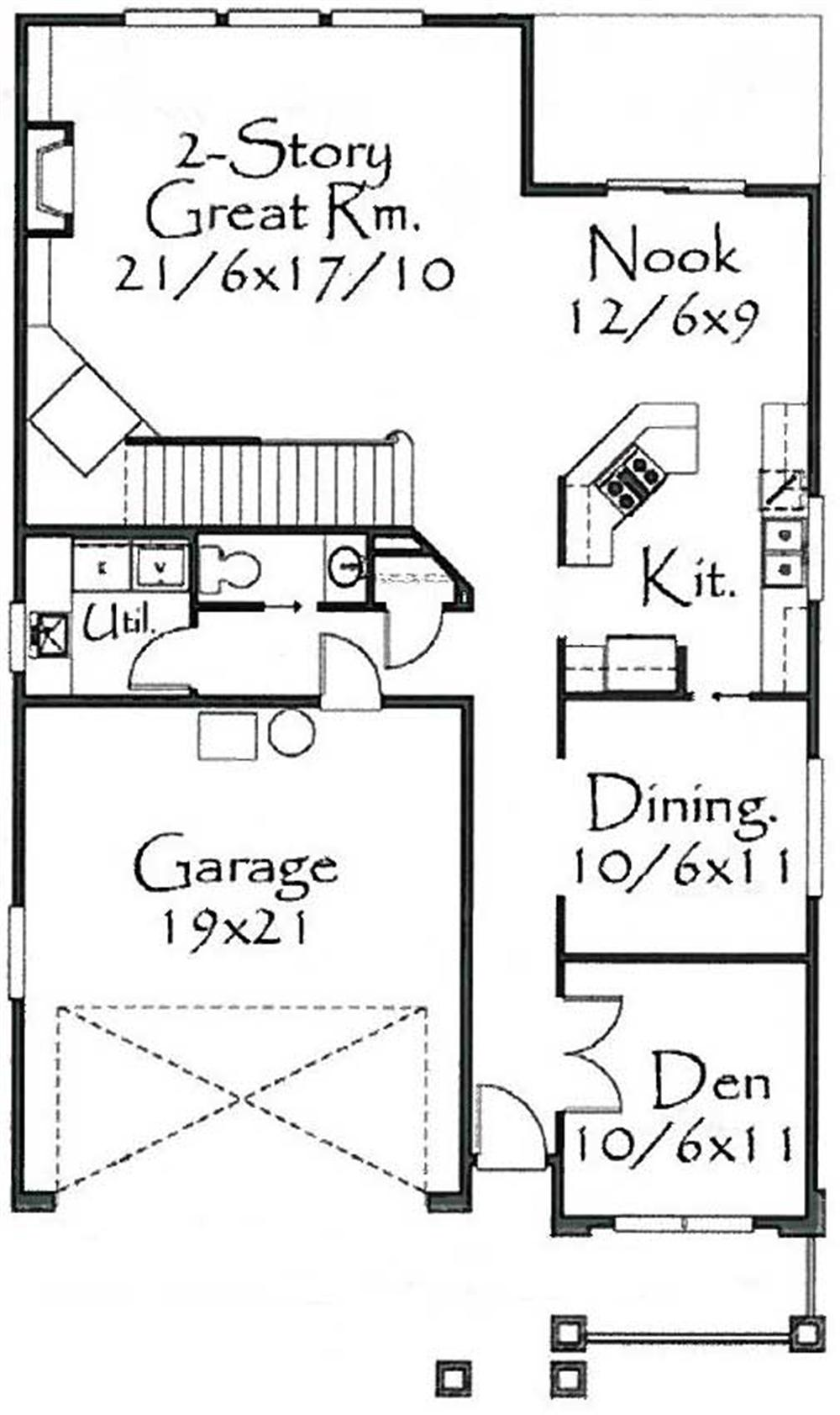 Large Images For House Plan 149 1192