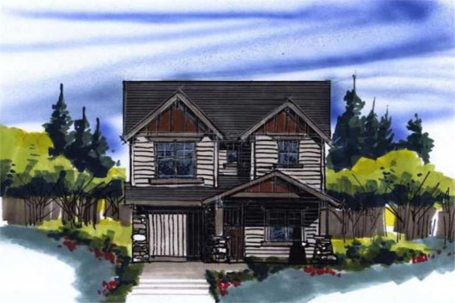 3-Bedroom, 1550 Sq Ft Ranch House Plan - 149-1194 - Front Exterior