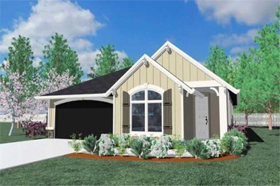 4-Bedroom, 1898 Sq Ft Country House Plan - 149-1211 - Front Exterior