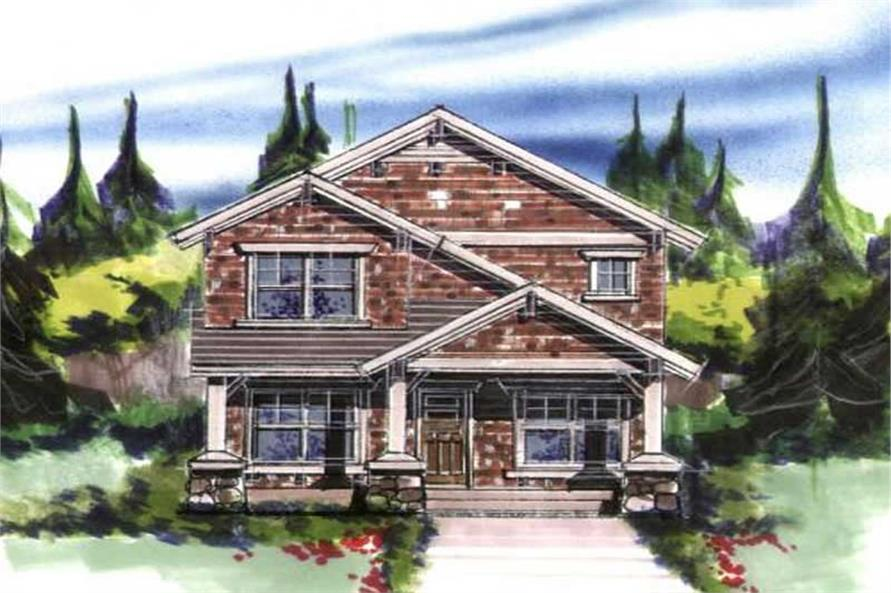 3-Bedroom, 2097 Sq Ft Ranch Home Plan - 149-1214 - Main Exterior