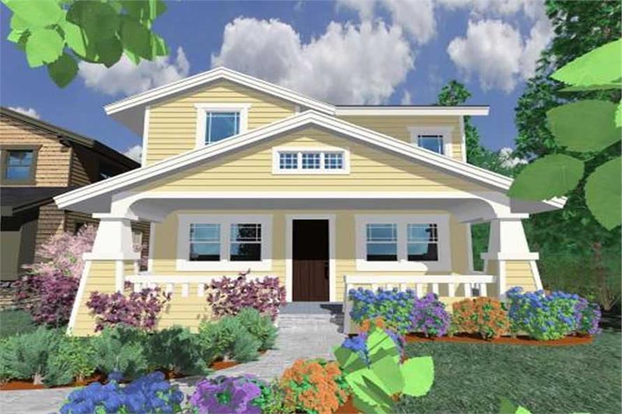3-Bedroom, 2029 Sq Ft Ranch Home Plan - 149-1215 - Main Exterior