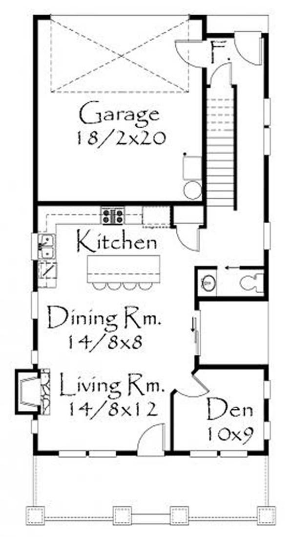 This image shows the living and dining areas.