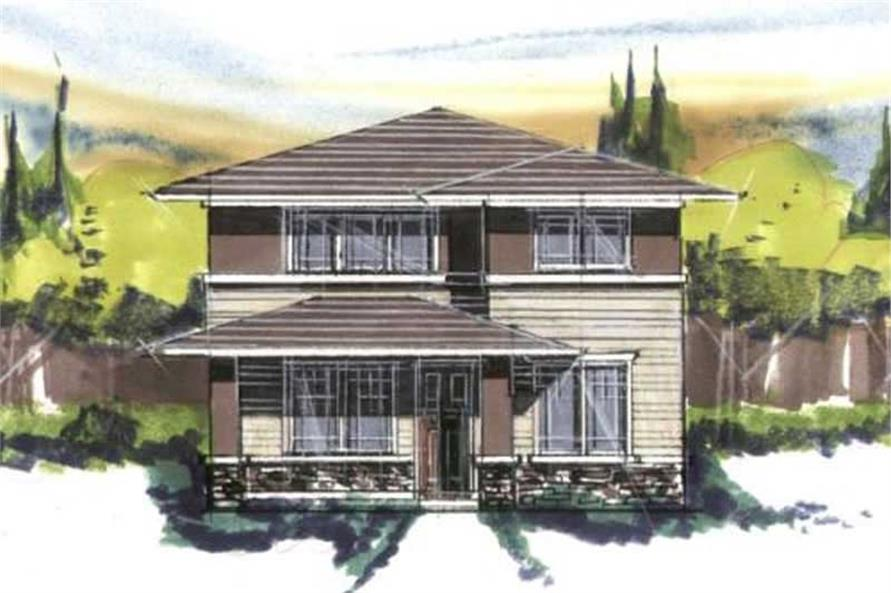 Main image for house plan # 16654