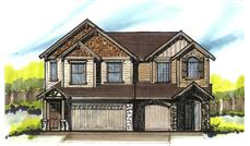 Main image for craftsman houseplans # 16640