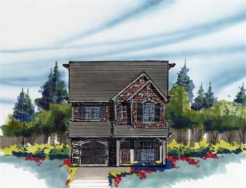 Main image for house plan # 16644