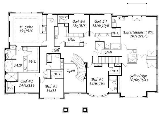 In law suite home plan 6 bedrms 6 5 baths 8817 sq ft for How much to build a 3000 sq ft house