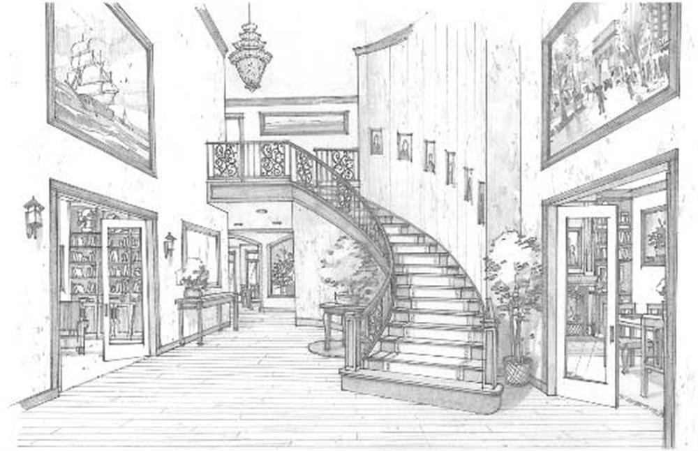 inside house design drawing